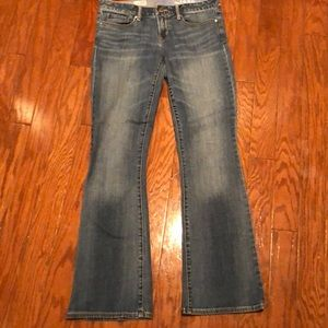The Gap 1969 sexy boot jeans size 8